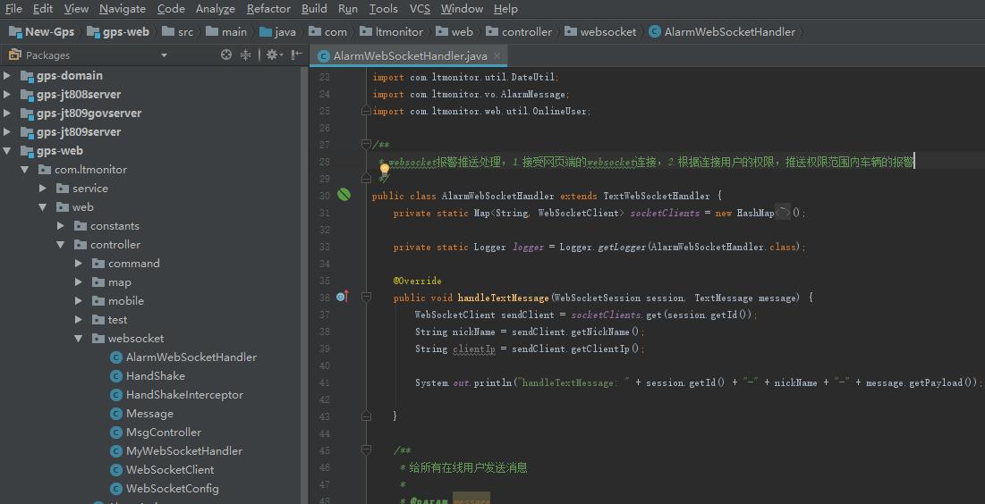 jt808协议服务器开发环境