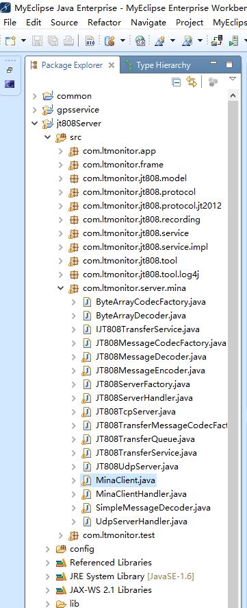基于Java Mina框架的部标808服务器设计和开发